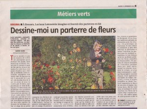 Les Parterres en Kit in the Press !!!